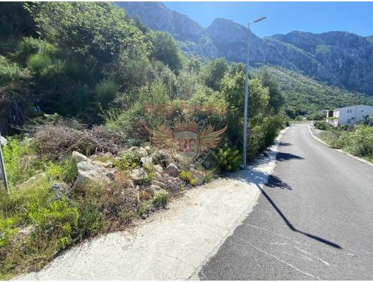 Blizikuce'de panoramik arsa, Montenegro da satılık arsa, Montenegro da satılık imar arsası