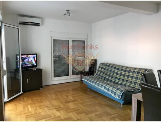 Gelişmiş altyapıya sahip bir alanda daire. Budva, Karadağ, Karadağ satılık evler, Karadağ da satılık daire, Karadağ da satılık daireler