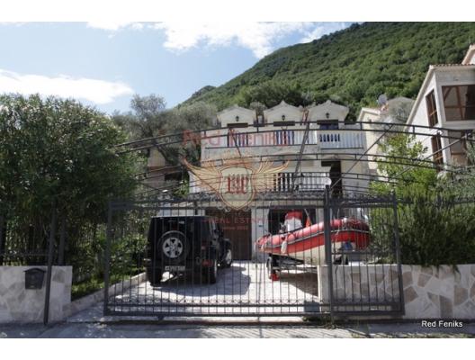 Stoliv ilk satırında muhteşem villa, Dobrota satılık müstakil ev, Dobrota satılık müstakil ev, Kotor-Bay satılık villa