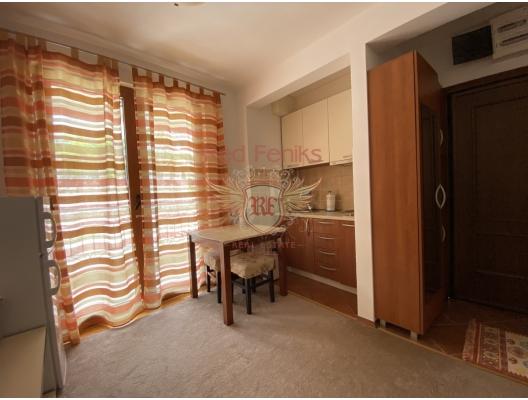 Petrovac'ta Tek Yatak Odalı Daire 1+1, Montenegro da satılık emlak, Becici da satılık ev, Becici da satılık emlak