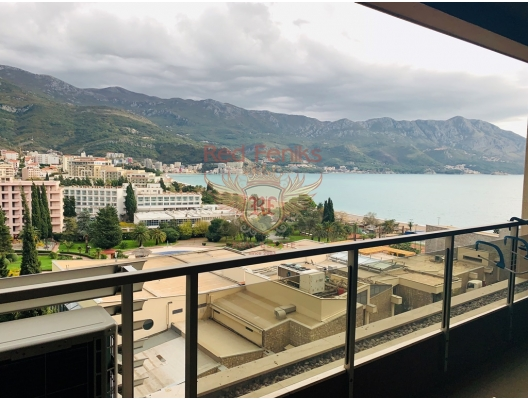 Two bedroom Apartment for sale, with high rental potential in Becici, Montenegro., hotel in Montenegro for sale, hotel concept apartment for sale in Becici