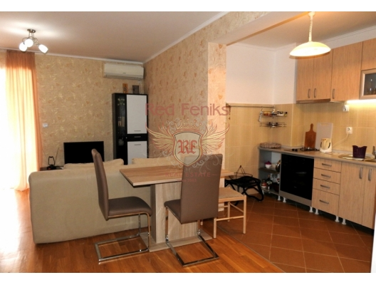 One bedroom apartment in Petrovac, Becici da satılık evler, Becici satılık daire, Becici satılık daireler