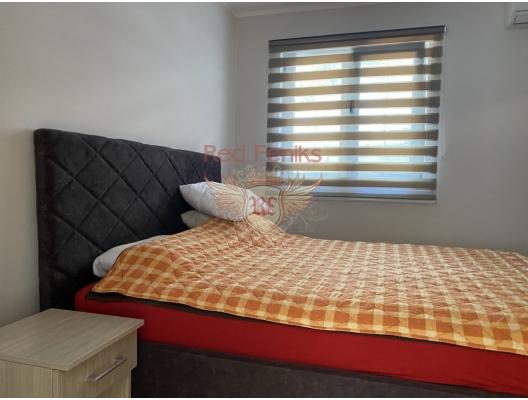 Petrovac'ta İki Yatak Odalı Daire 2+1, becici satılık daire, Karadağ da ev fiyatları, Karadağ da ev almak