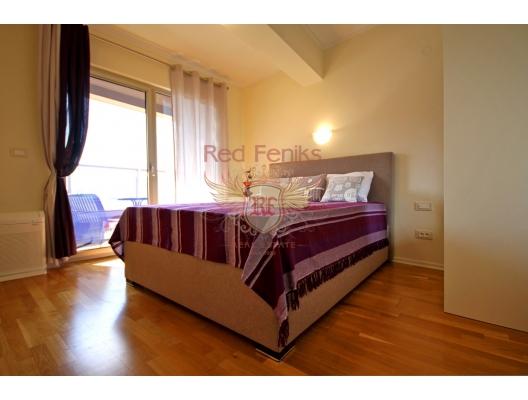 Budva'da iki yatak odalı daire 1+1, Karadağ'da satılık otel konsepti daire, Karadağ'da satılık otel konseptli apart daireler, karadağ yatırım fırsatları