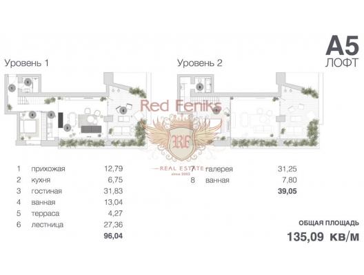 Budva'da İki Katlı Daire, becici satılık daire, Karadağ da ev fiyatları, Karadağ da ev almak