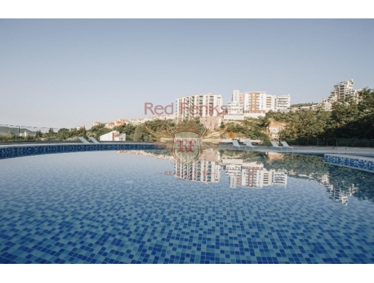 The new residential complex in Becici, apartments in Montenegro, apartments with high rental potential in Montenegro buy, apartments in Montenegro buy