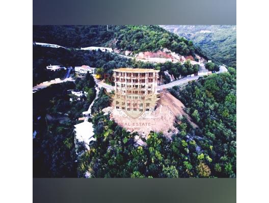 Becici'de yeni bir panoramik komplekste tek yatak odalı daireler, Karadağ'da satılık otel konsepti daire, Karadağ'da satılık otel konseptli apart daireler, karadağ yatırım fırsatları