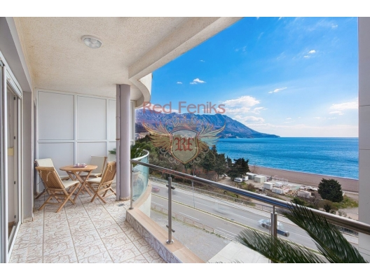 Apartment with fantastic sea view for sale in Becici.