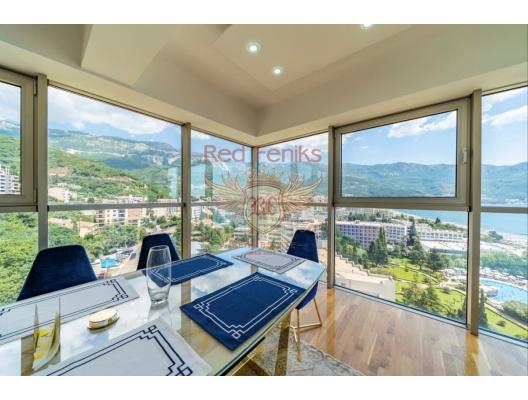 Becici'de panoramik manzaralı lüks daire, Karadağ da satılık ev, Montenegro da satılık ev, Karadağ da satılık emlak