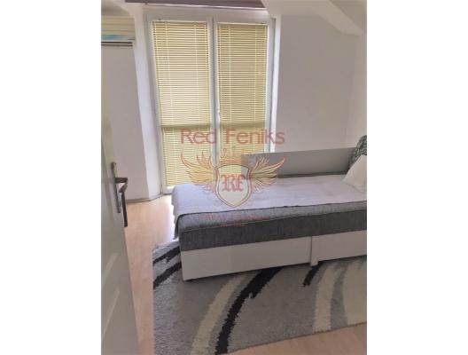 Bijela, Herceg Novi sahile yakın iki yatak odalı daire, becici satılık daire, Karadağ da ev fiyatları, Karadağ da ev almak