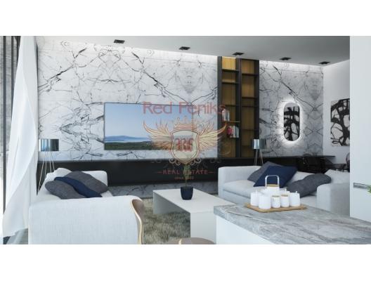 Tivat'ta bir yamaç kompleksinde tek yatak odalı daireler, Karadağ da satılık ev, Montenegro da satılık ev, Karadağ da satılık emlak