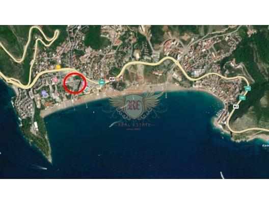 Becici'de Ön Sırada Güzel Arsa, Montenegro da satılık arsa, Montenegro da satılık imar arsası