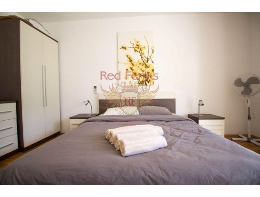 Muo'da Tek Yatak Odalı Daire, karadağ da kira getirisi yüksek satılık evler, avrupa'da satılık otel odası, otel odası Avrupa'da