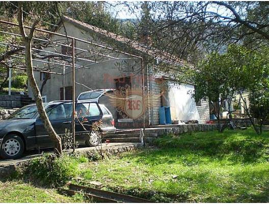 İki basamaklı, iki ayrı girişe sahip ev.