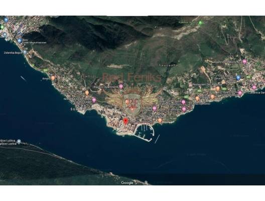 Kumbor'da panoramik deniz manzaralı arsa, Karadağ Arsa Fiyatları, Budva da satılık arsa, Kotor da satılık arsa