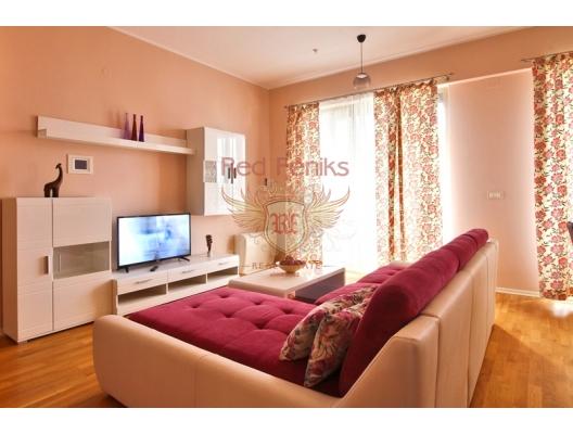 Üç odalı daire kınamak Karadağ, Becici / Budva, Karadağ'da satılık otel konsepti daire, Karadağ'da satılık otel konseptli apart daireler, karadağ yatırım fırsatları