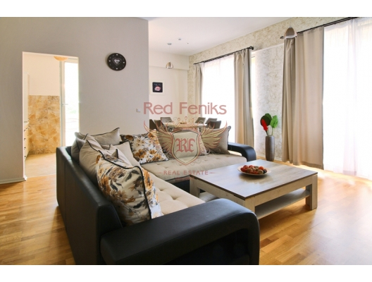 Becici'de üç odalı bir daire, Montenegro da satılık emlak, Becici da satılık ev, Becici da satılık emlak