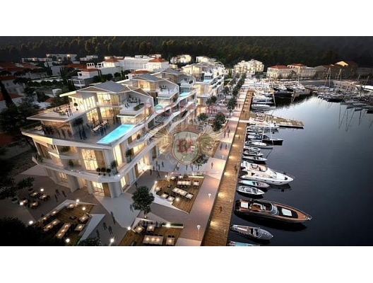 Yeni Kompleks içinde Lüks Daire, Karadağ'da satılık yatırım amaçlı daireler, Karadağ'da satılık yatırımlık ev, Montenegro'da satılık yatırımlık ev