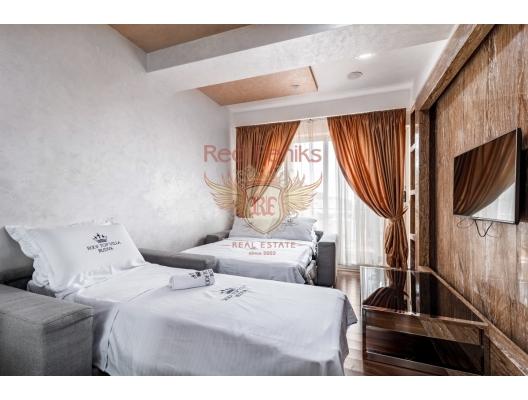 Budva'da 3 yatak odalı ve deniz manzaralı dubleks daire, Montenegro da satılık emlak, Becici da satılık ev, Becici da satılık emlak