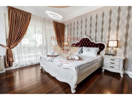 Budva'da 3 yatak odalı ve deniz manzaralı dubleks daire, Becici da ev fiyatları, Becici satılık ev fiyatları, Becici da ev almak