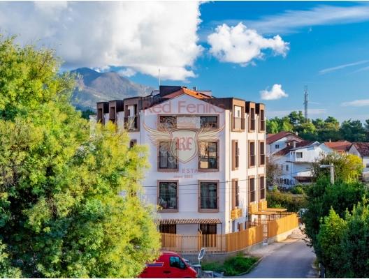 Montenegro Tivat satılık tam donanımlı üç yatak odalı daire Dairenin alanı 71.