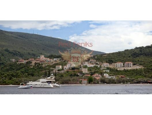 Villen in einer Wohnanlage auf Lustica, Haus mit Meerblick zum Verkauf in Montenegro, Haus in Montenegro kaufen