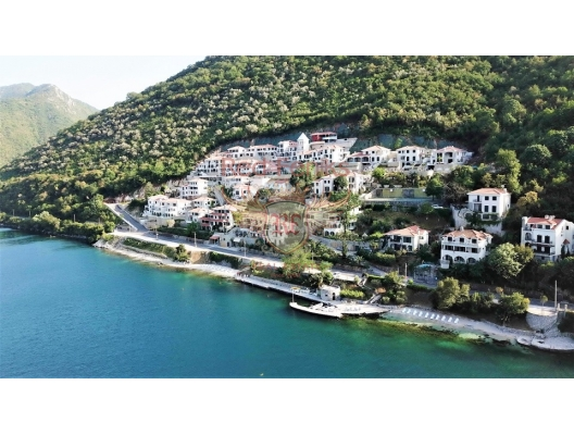 Apartments and Villas in a modern complex on the first line in Kostanica, apartments for rent in Dobrota buy, apartments for sale in Montenegro, flats in Montenegro sale