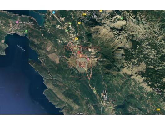 Daire inşaatı için deniz manzaralı kentsel arsa, Tivat satılık arsa, Herceg Novi satılık arsa
