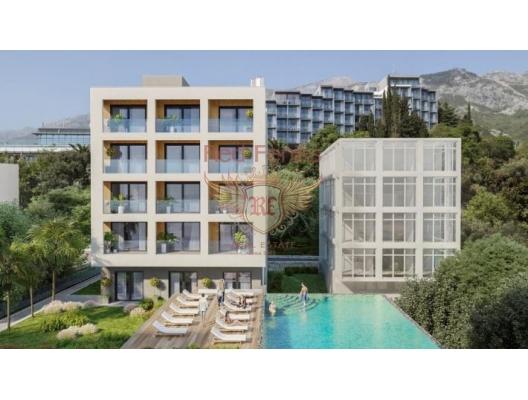 New Residential Complex on the First Line, Karadağ da satılık ev, Montenegro da satılık ev, Karadağ da satılık emlak