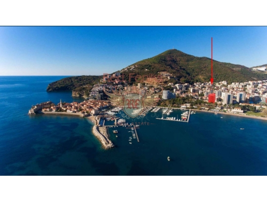 New Luxury Hotel Residential Complex in Budva, hotel residences for sale in Montenegro, hotel apartment for sale in Region Budva