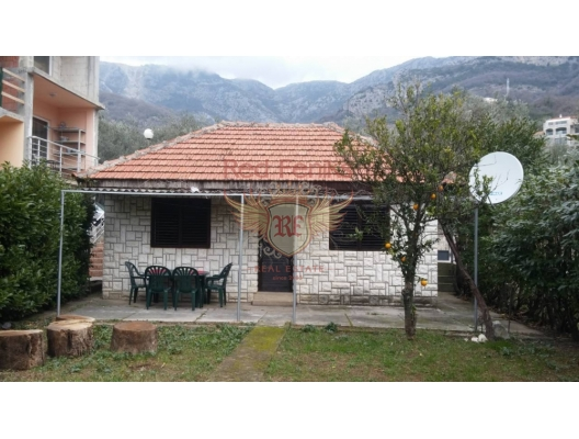 Urbanized plot for sale in Becici, Budva Riviera Montenegro with an area of 194m2.