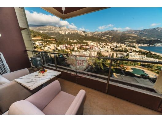 Otel rezidansları Satılık | Montenegro, Becici / Budva, Karadağ'da garantili kira geliri olan yatırım, Becici da Satılık Konut, Becici da satılık yatırımlık ev