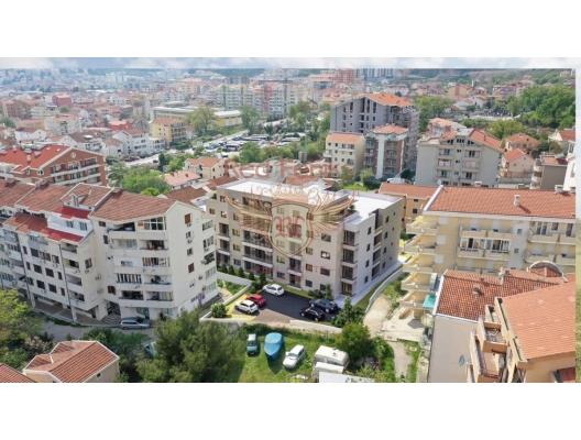 Budva'da Yeni Konut Binası 1+1, Karadağ da satılık ev, Montenegro da satılık ev, Karadağ da satılık emlak