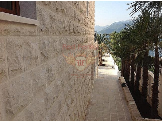 The area of the villa is 450 sqm, the area is 1000 sqm.