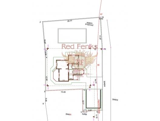 Bar'da 541 m2 'lik Arsada Yeni Ev, Bar satılık müstakil ev, Bar satılık müstakil ev, Region Bar and Ulcinj satılık villa