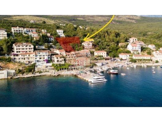 Bigova'da Kentsel Deniz Manzaralı Arsa, Karadağ Arsa Fiyatları, Budva da satılık arsa, Kotor da satılık arsa