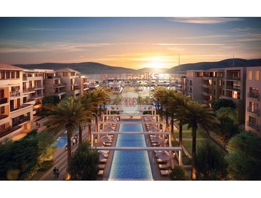 Tivat da Deniz Kiyisinda Daire, becici satılık daire, Karadağ da ev fiyatları, Karadağ da ev almak