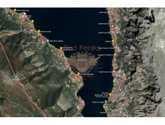 Panoramik deniz manzaralı ve Boka Kotorska Körfezi'nde büyük bir arsaya sahip ev., Kotor-Bay satılık müstakil ev, Kotor-Bay satılık villa