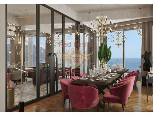 Becici'de bir yerleşim bölgesinde 300m2'lik panoramik bir restoran bulunmaktadır.