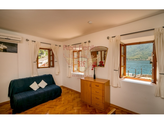Beautiful Stone Villa in Perast, Dobrota house buy, buy house in Montenegro, sea view house for sale in Montenegro