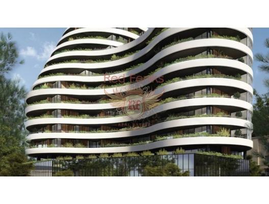 Budva'da, yeni konut kompleksi, İlk Hat, Karadağ da satılık ev, Montenegro da satılık ev, Karadağ da satılık emlak