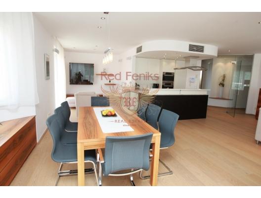 Beçiçi Budva'da Penthouse, becici satılık daire, Karadağ da ev fiyatları, Karadağ da ev almak