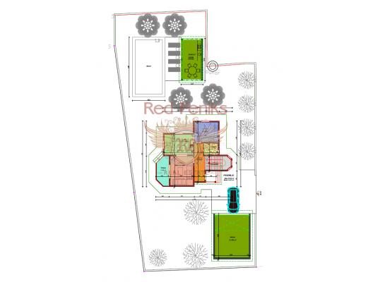 Bar'da 541 m2 'lik Arsada Yeni Ev, Karadağ Villa Fiyatları Karadağ da satılık ev, Montenegro da satılık ev, Karadağ satılık villa