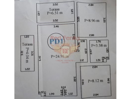 Petrovac'da İki Yatak Odalı Daire 2+1, Region Budva da ev fiyatları, Region Budva satılık ev fiyatları, Region Budva ev almak