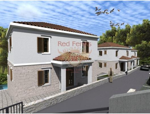 Villa Under Construction in Budva Riviera, Karadağ Villa Fiyatları Karadağ da satılık ev, Montenegro da satılık ev, Karadağ satılık villa