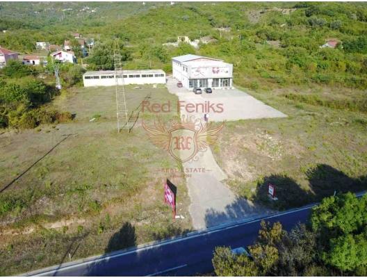 Radanovici'de Geniş Ticari Alan, montenegro da satılık otel, montenegro da satılık işyeri, montenegro da satılık işyerleri