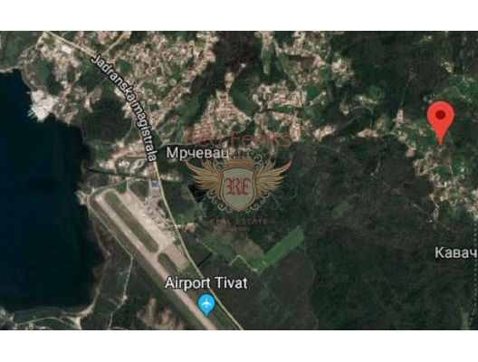 Urbanized Plot in Tivat, Tivat satılık arsa, Herceg Novi satılık arsa