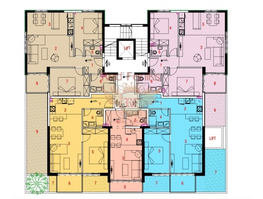 New Residential Complex in Budva, apartments for rent in Becici buy, apartments for sale in Montenegro, flats in Montenegro sale