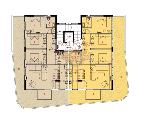 New Residential Complex in Budva, sea view apartment for sale in Montenegro, buy apartment in Becici, house in Region Budva buy