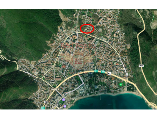 Budva'da Tek Yatak Odalı Daire 1+1, Karadağ'da satılık yatırım amaçlı daireler, Karadağ'da satılık yatırımlık ev, Montenegro'da satılık yatırımlık ev